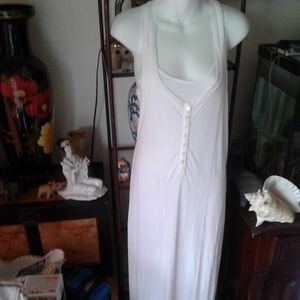 Standard James Perse maxi white dress